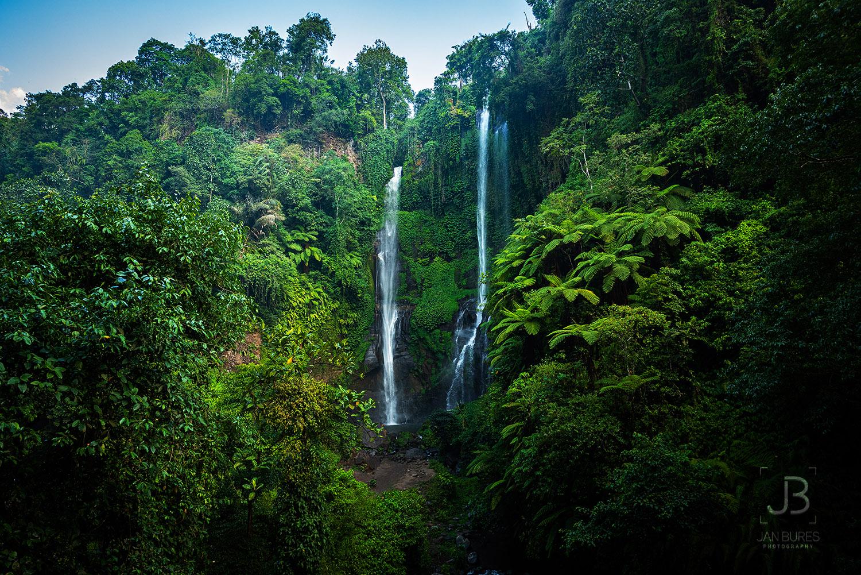 Sekumpul waterfall in Indonesia