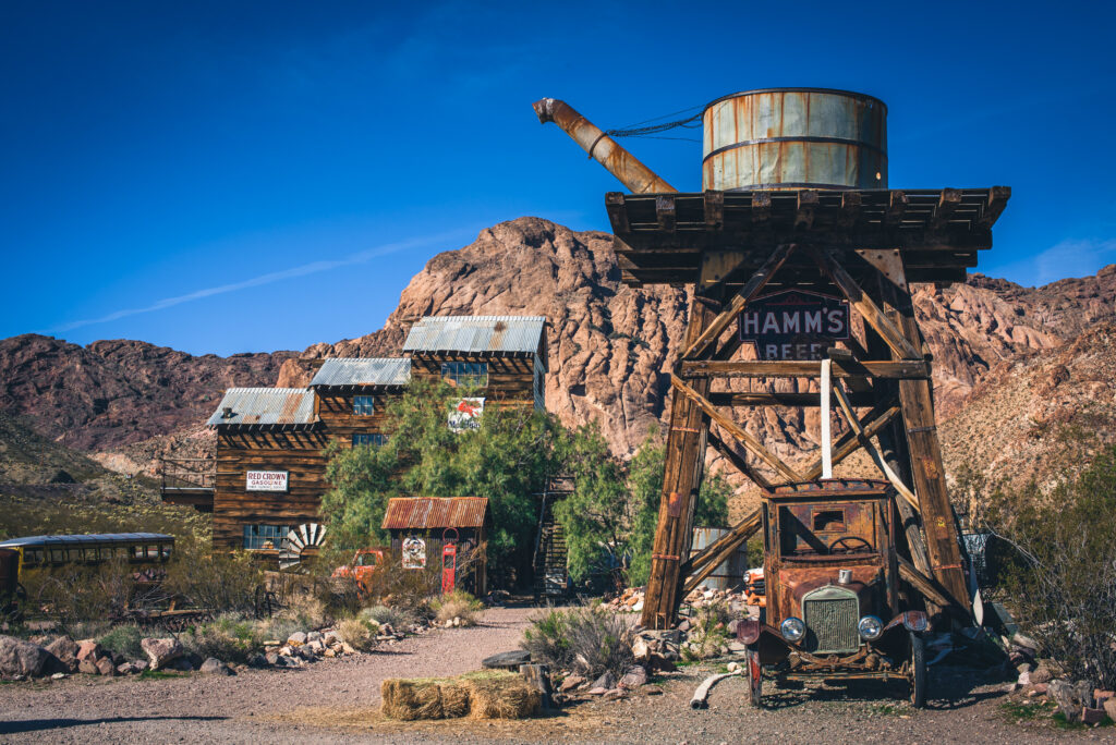 Nelson Ghost Town, Nevada - USA
